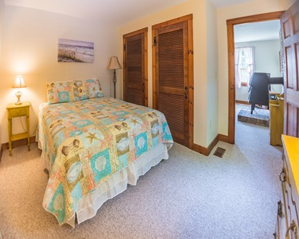 Edgartown Martha's Vineyard vacation rental - 1st floor bedroom with queen bed.