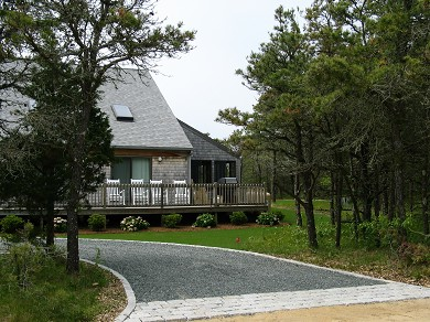 Katama - Edgartown Martha's Vineyard vacation rental - Home located on a quiet private road