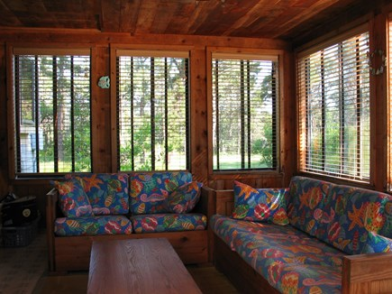 Katama - Edgartown Martha's Vineyard vacation rental - Bright three-season sunroom