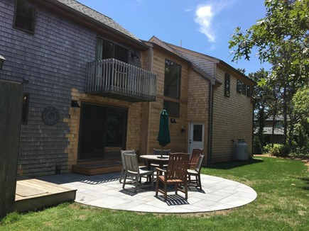 Katama - Edgartown Martha's Vineyard vacation rental - Private blue granite backyard patio