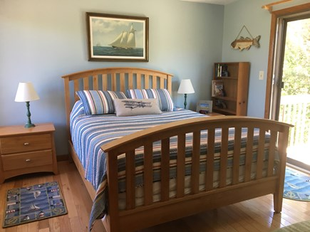 Katama - Edgartown Martha's Vineyard vacation rental - Second floor bedroom with private deck