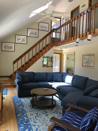 Katama - Edgartown Martha's Vineyard vacation rental - Comfortable living area
