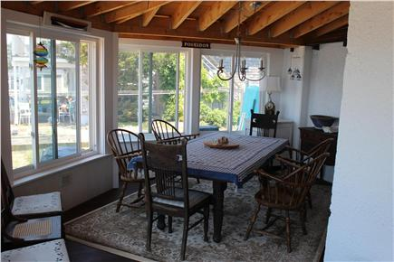 Oak Bluffs Martha's Vineyard vacation rental - Porch Dining Area