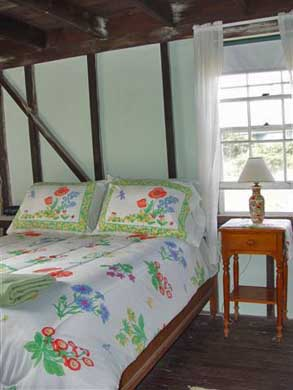 Oak Bluffs Martha's Vineyard vacation rental - Downstairs front facing double BR with relaxing SW breezes