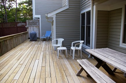 Vineyard Haven Martha's Vineyard vacation rental - Deck has lounge chairs, picnic tables, gas and charcoal grills