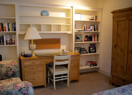 Vineyard Haven Martha's Vineyard vacation rental - First floor den has double sized futon