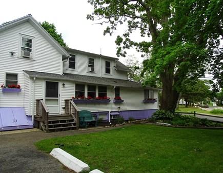 Oak Bluffs Martha's Vineyard vacation rental - Side entrance into kitchen, plenty of parking