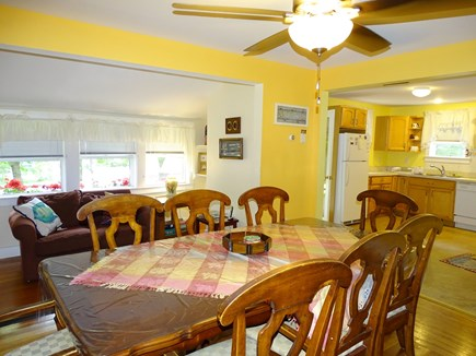 Oak Bluffs Martha's Vineyard vacation rental - Sunny dining area, opens to kitchen