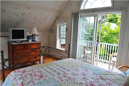 Oak Bluffs Martha's Vineyard vacation rental - Master Suite's intimate balcony