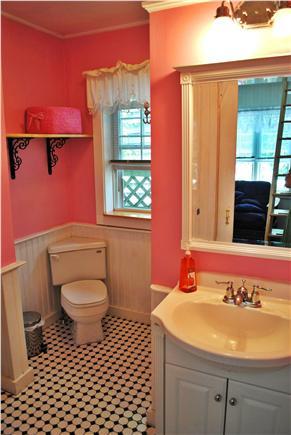 Oak Bluffs Martha's Vineyard vacation rental - Bathroom with shower, washer/dryer