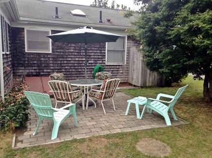 Edgartown Martha's Vineyard vacation rental - Cozy patio