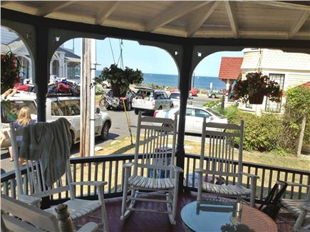 Oak Bluffs Martha's Vineyard vacation rental - Front porch; Scenery of Narraganset Ave overlooking the ocean