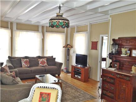 Oak Bluffs Martha's Vineyard vacation rental - Spacious double livingroom; Premium cable  TV & hi speed internet