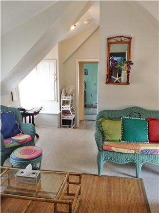 Oak Bluffs Martha's Vineyard vacation rental - 2nd floor furnished living room; Premium cable television