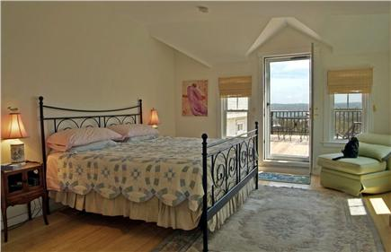 Aquinnah Martha's Vineyard vacation rental - Master bedroom(no cat anymore)