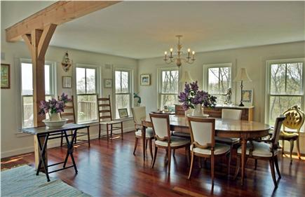 Aquinnah Martha's Vineyard vacation rental - Dining room