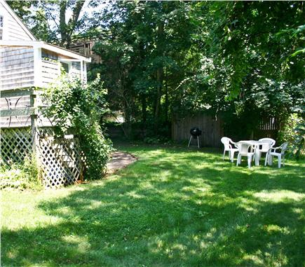 Vineyard Haven Martha's Vineyard vacation rental - Backyard