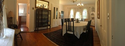 Oak Bluffs (East Chop) Martha's Vineyard vacation rental - Dining Room: Ideal for Entertaining Family & Friends for hours!
