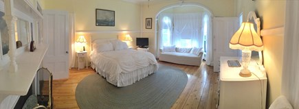 Oak Bluffs (East Chop) Martha's Vineyard vacation rental - Guest Suite: Romantic & Large with private bath & fireplace. 1st