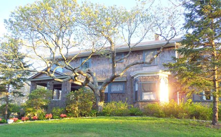 Oak Bluffs (East Chop) Martha's Vineyard vacation rental - Beautiful sunset in your front yard. Unwind and take it all in!