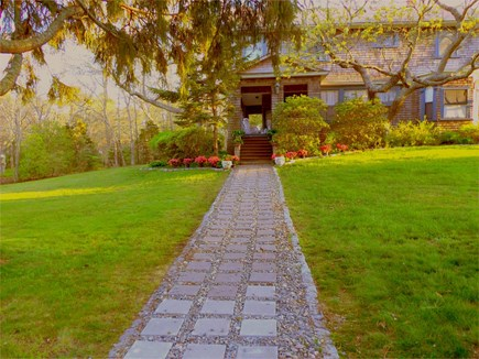 Oak Bluffs (East Chop) Martha's Vineyard vacation rental - Walkway to your vacation home! Family fun just a few steps away!