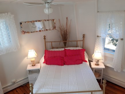Oak Bluffs (East Chop) Martha's Vineyard vacation rental - Cozy Back Bedroom with private staircase & new memory foam topper