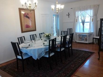 Oak Bluffs (East Chop) Martha's Vineyard vacation rental - Dining room easily seats 12 comfortably.