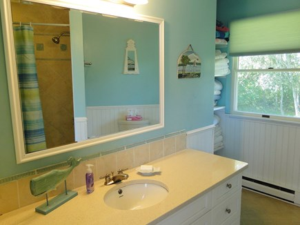 Chilmark Martha's Vineyard vacation rental - Spacious, clean full bathroom
