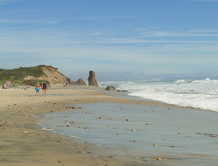 Chilmark Martha's Vineyard vacation rental - Walk to one of the most beautiful majestic beaches, Lucy Vincent