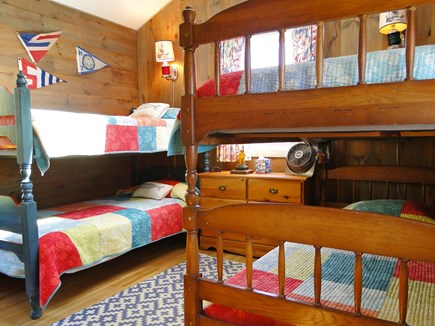 Chilmark Martha's Vineyard vacation rental - Great room for kids - two sets of bunk beds
