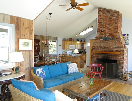 Chilmark Martha's Vineyard vacation rental - Open floor plan invites family gatherings