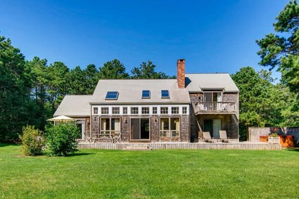 West Tisbury Martha's Vineyard vacation rental - Manicured lawn - perfect for wiffle ball