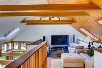 West Tisbury Martha's Vineyard vacation rental - Loft space with three couches