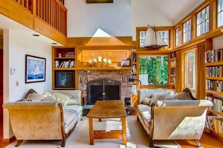 West Tisbury Martha's Vineyard vacation rental - Sunny sitting room