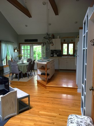 Edgartown Martha's Vineyard vacation rental - View from front entrance