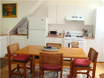 Vineyard Haven Martha's Vineyard vacation rental - Dining table can accommodate 6 people