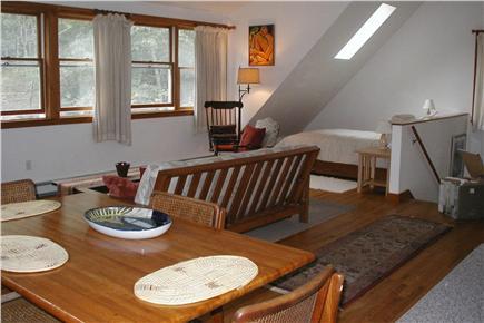 Vineyard Haven Martha's Vineyard vacation rental - Looking toward sleeping area; skylight over bed