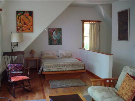 Vineyard Haven Martha's Vineyard vacation rental - Sleeping area with very comfortable oversized double platform bed