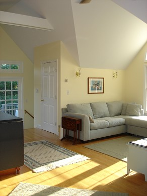 Island Grove, Edgartown Martha's Vineyard vacation rental - Studio - couch/sleeping area