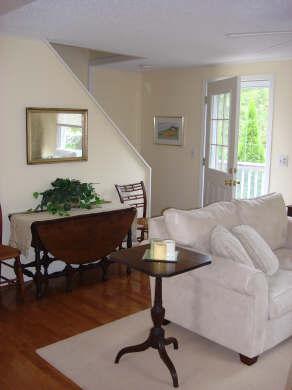 Island Grove, Edgartown Martha's Vineyard vacation rental - Front entrance into living room