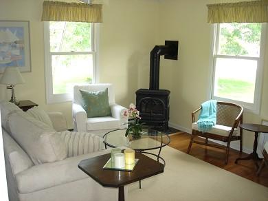 Island Grove, Edgartown Martha's Vineyard vacation rental - Cozy living room