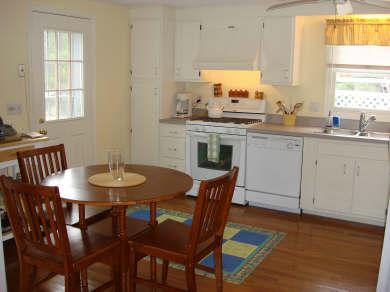 Island Grove, Edgartown Martha's Vineyard vacation rental - Kitchen with dining table