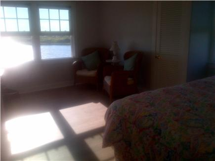 Katama - Edgartown, Edgartown Craxatucket Cove  Martha's Vineyard vacation rental - Third upstairs bedroom twin beds or a king with sitting area