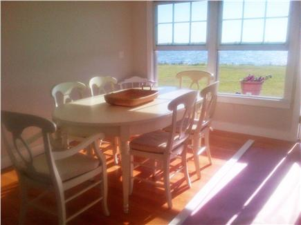 Katama - Edgartown, Edgartown Craxatucket Cove  Martha's Vineyard vacation rental - Dining area