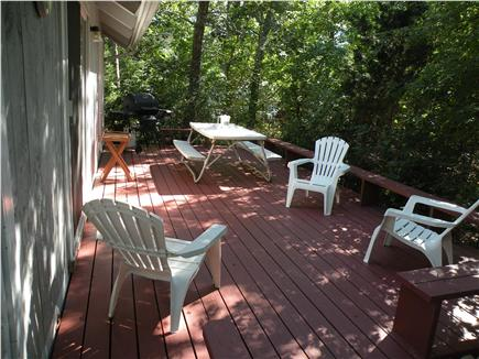 Oak Bluffs Martha's Vineyard vacation rental - Sun, read, entertain and grill on huge deck.