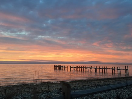 Oak Bluffs Martha's Vineyard vacation rental - Take evening walks to the lighthouse for sunsets.