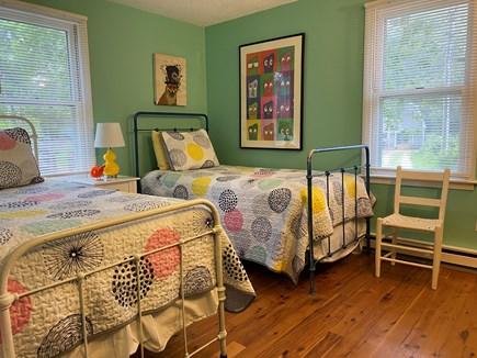 Edgartown Martha's Vineyard vacation rental - 2nd bedroom with 2 twin beds