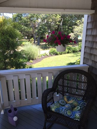Oak Bluffs Martha's Vineyard vacation rental - View from farmer's porch