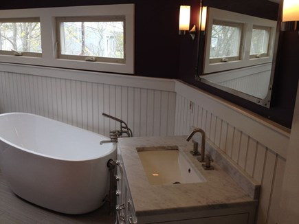 Oak Bluffs Martha's Vineyard vacation rental - Master bathroom with soaking tub. Separate shower not shown.