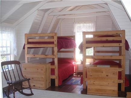 Chappaquiddick, Edgartown Martha's Vineyard vacation rental - Second floor bedroom in guest wing sleeps 4. Wing has full bath
